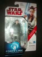 """Star Wars Rey (Island Journey) Collectable Figure C3528/C1503 Force Link Compatible 3.75"""" Scale Size"""