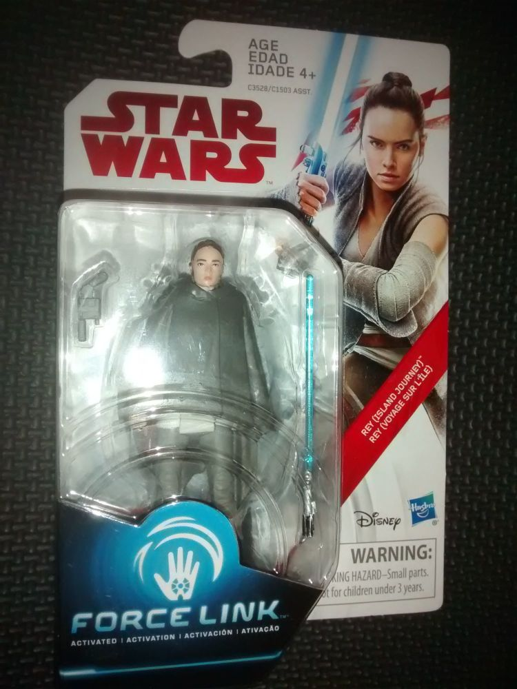 Star Wars Rey (Island Journey) Collectable Figure C3528/C1503 Force Link Co