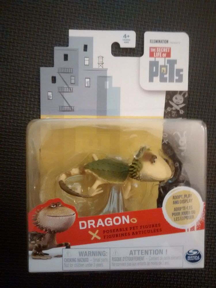 The Secret Life Of Pets - Collectable Figure - Dragon