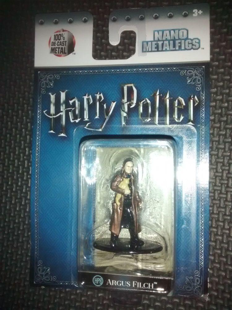 Harry Potter - Nano Metalfigs - Die-Cast Collectable Figure - Argus Filch