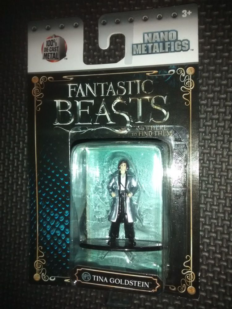 Fantastic Beasts - Nano Metalfigs - Die-Cast Collectable Figure - Tina Gold