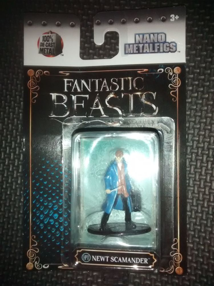 Fantastic Beasts - Nano Metalfigs - Die-Cast Collectable Figure - Newt Scam