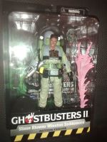 Diamond Select Deluxe Figures - Ghostbusters II - Series 7 - Slime Blower Winston Zeddemore