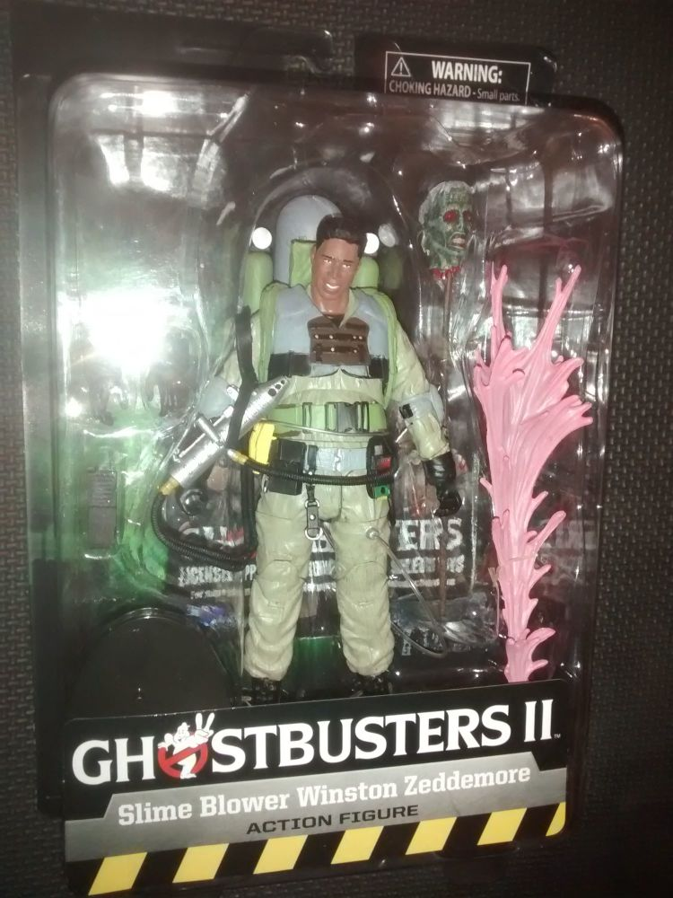 Diamond Select Deluxe Figures - Ghostbusters II - Series 7 - Slime Blower W