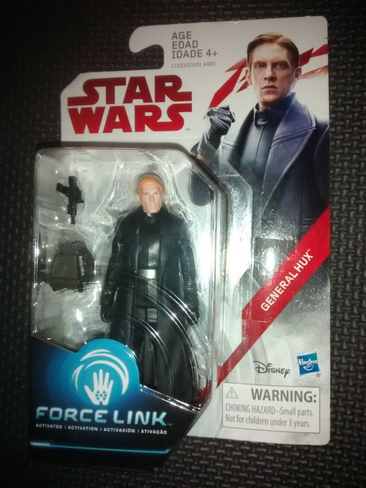 Star Wars General Hux Collectable Figure C1533/C1531 Force Link Compatible