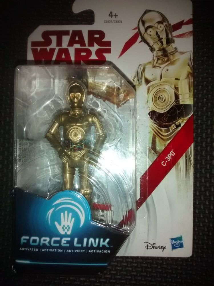 Star Wars C-3PO Collectable Figure C1537/C1531 Force Link Compatible 3.75