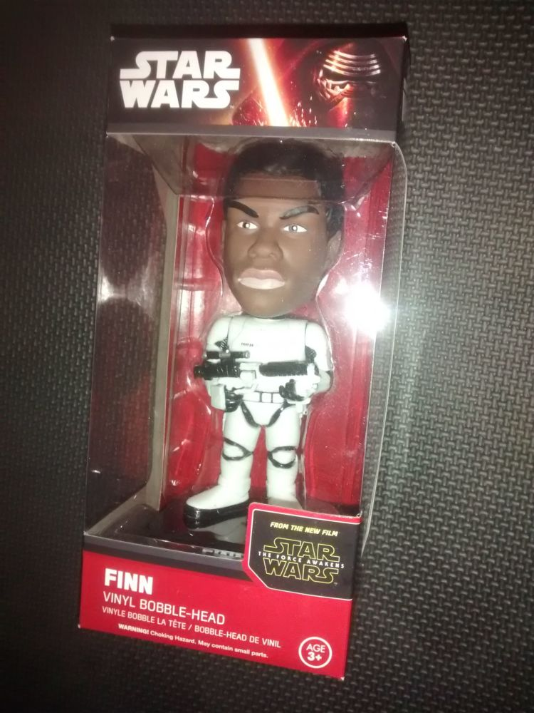 Funko Vinyl Bobble Head - Star Wars - The Force Awakens - Finn - Stormtroop