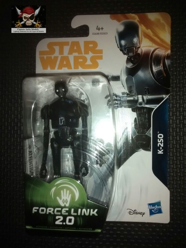 Star Wars K-2SO Collectable Figure E1638/E0323 Force Link 2.0 Compatible 3.