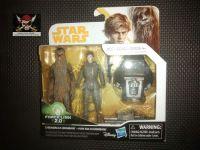 "Star Wars Force Link 2.0 Compatible 3.75"" Figure Set - Chewbacca (Mimban) & Han Solo (Mimban)"