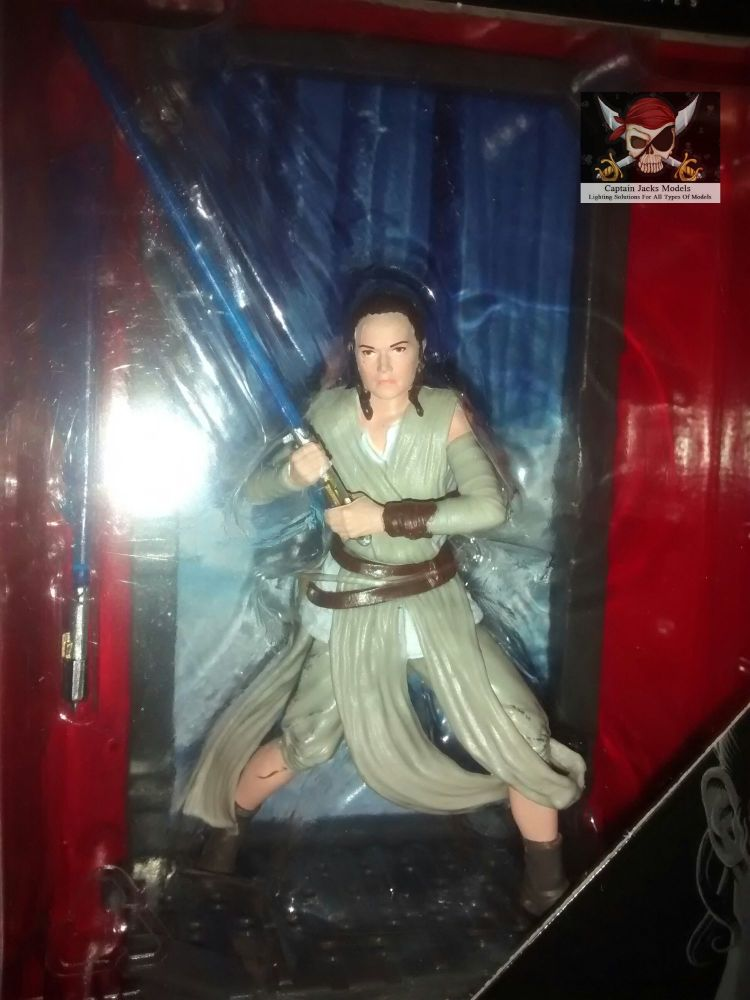 Star Wars - The Black Series - Titanium Series - Rey (Starkiller Base) - Co