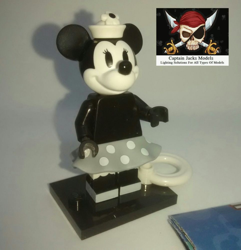 Lego Minifigs - Disney Series 2 (Part Number 71024) - Vintage Minnie Mouse
