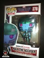 Pop Marvel Guardians Of The Galaxy - Hala The Accuser - Vinyl Figure - Issue 278