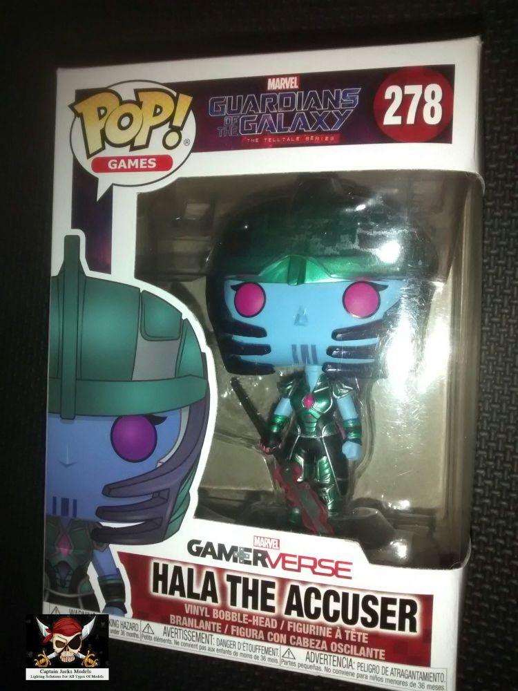 Pop Marvel Guardians Of The Galaxy - Hala The Accuser - Vinyl Figure - Issu