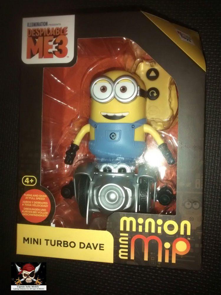 Despicable Me 3 Minion Mini Mip Turbo Dave Remote Control Toy