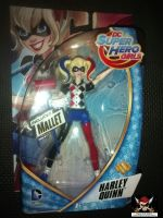 "DC Super Hero Girls 6"" Articulated Action Figure - Harley Quinn"