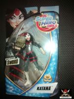 "DC Super Hero Girls 6"" Articulated Action Figure - Katana"