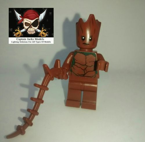 Lego Minifigs - Groot - Split from set 76102