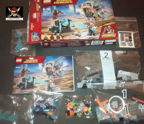 Lego Set - 76102 - Thor's Weapon Quest - NO MINIFIGURES INCLUDED.