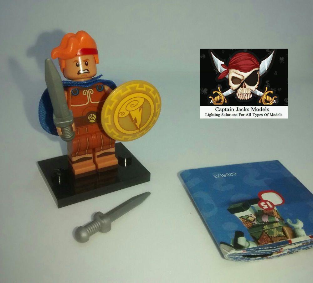 Lego Minifigs - Disney Series 2 (Part Number 71024) - Hercules Figure