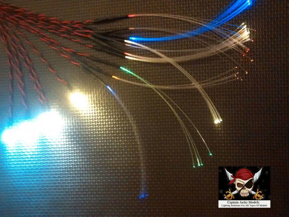 Star Wars Model Led & Fibre Optic Large Millenium Falcon COCKPIT LIGHTING S