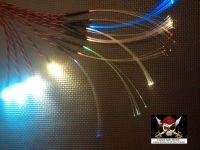 Star Wars Model Led & Fibre Optic Large Millenium Falcon COCKPIT LIGHTING SET (0.5mm strands)