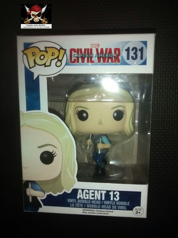 Funko Agent 13 Marvel Captain America Bobble Head 131#