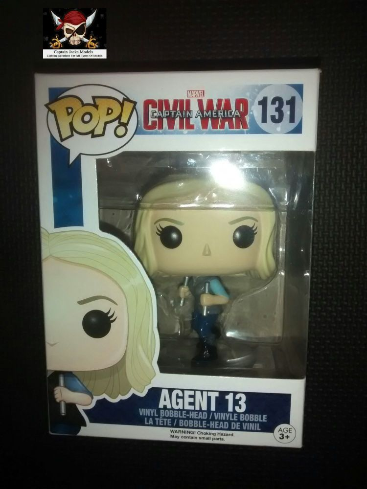 Pop Marvel Avengers Captain America Civil War - Agent 13 - Vinyl Figure - I