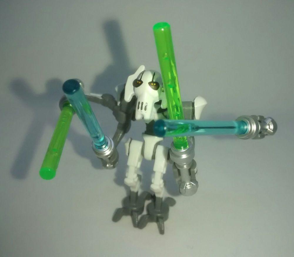 Lego Minifigure - GENERAL GRIEVOUS - Split from set 75199