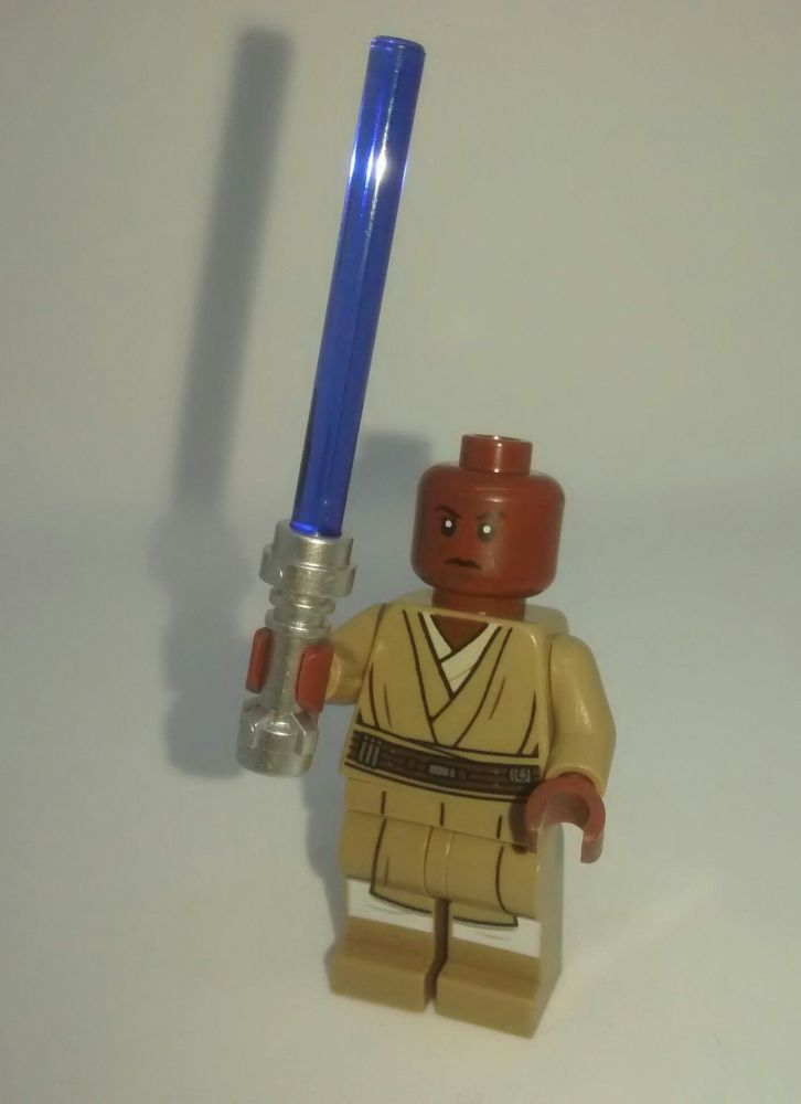 Lego Minifigure - MACE WINDU - Split from set 75199