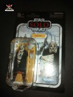"Star Wars - Kenner Hasbro - The Vintage Collection - Enfys Nest - Premium Collectable Figure Set 3.75"" Tall"