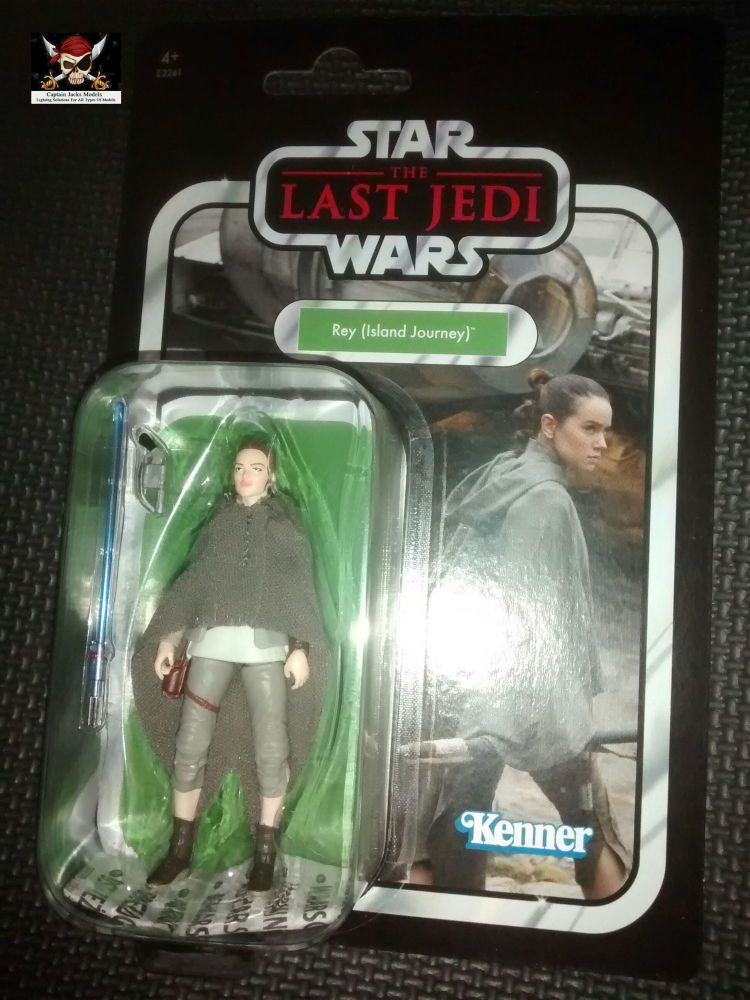 Star Wars - Kenner Hasbro - The Vintage Collection - Rey (Island Journey) -