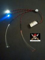 0.5mm Fibre Cockpit Set x1 Static Warm White Fibre x1 Static Red Fibre x1 5mm UV x1 3mm WW 9v Clip