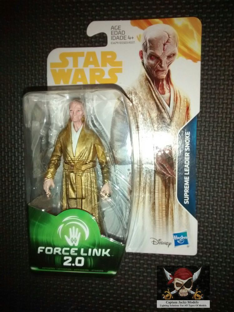 Star Wars Supreme Leader Snoke Collectable Figure E1679/E0323 Force Link -