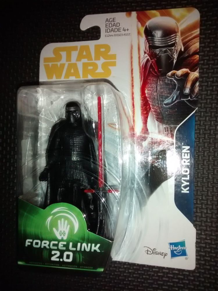 Star Wars Kylo Ren Collectable Figure E1244/E0323 Force Link 2.0 Compatible