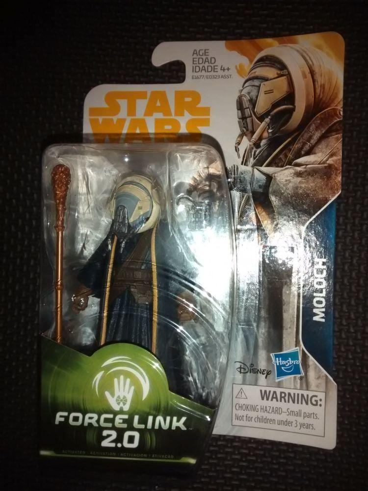 Star Wars Moloch Collectable Figure E1677/E0323 Force Link - 2.0 Compatible