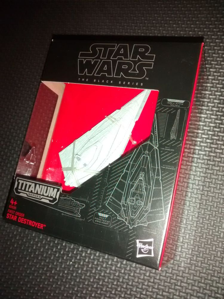 Star Wars - The Black Series - Titanium Series - B3935 First Order Star Des