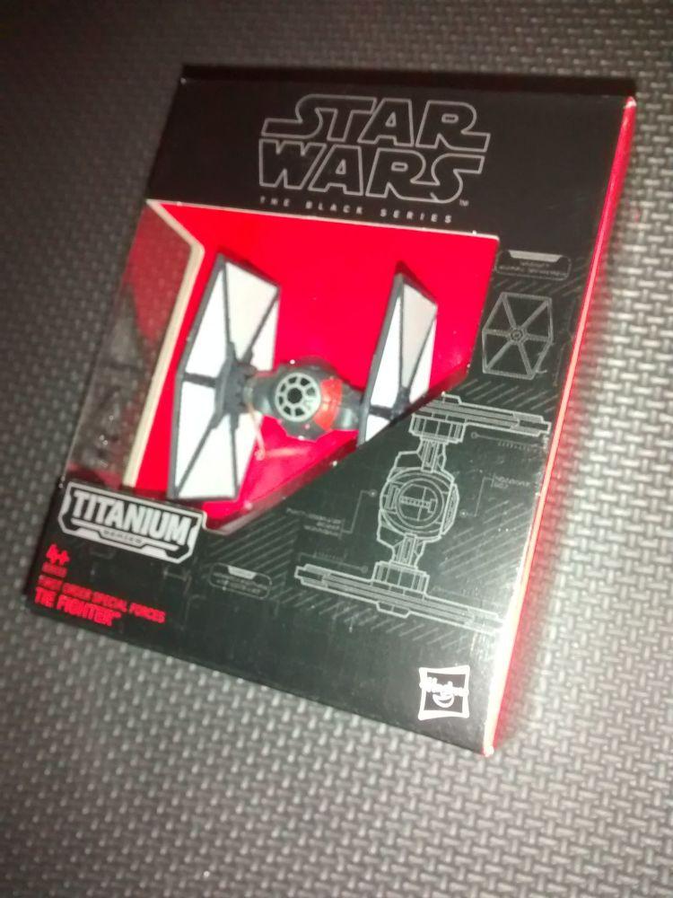 Star Wars - The Black Series - Titanium Series - B3933 First Order Special