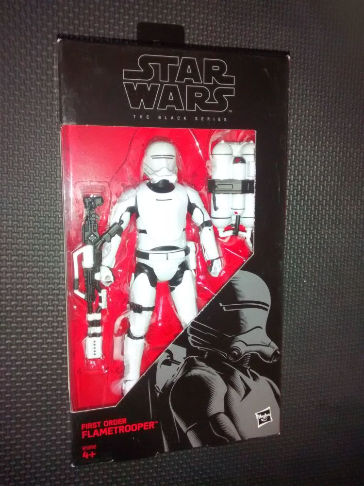 Star Wars - The Black Series - First Order Flame Trooper - Collectable Figu