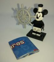 Lego Minifigs - Disney Series 2 (Part Number 71024) - Vintage Mickey Mouse Figure