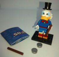 Lego Minifigs - Disney Series 2 (Part Number 71024) - Scrooge McDuck Figure