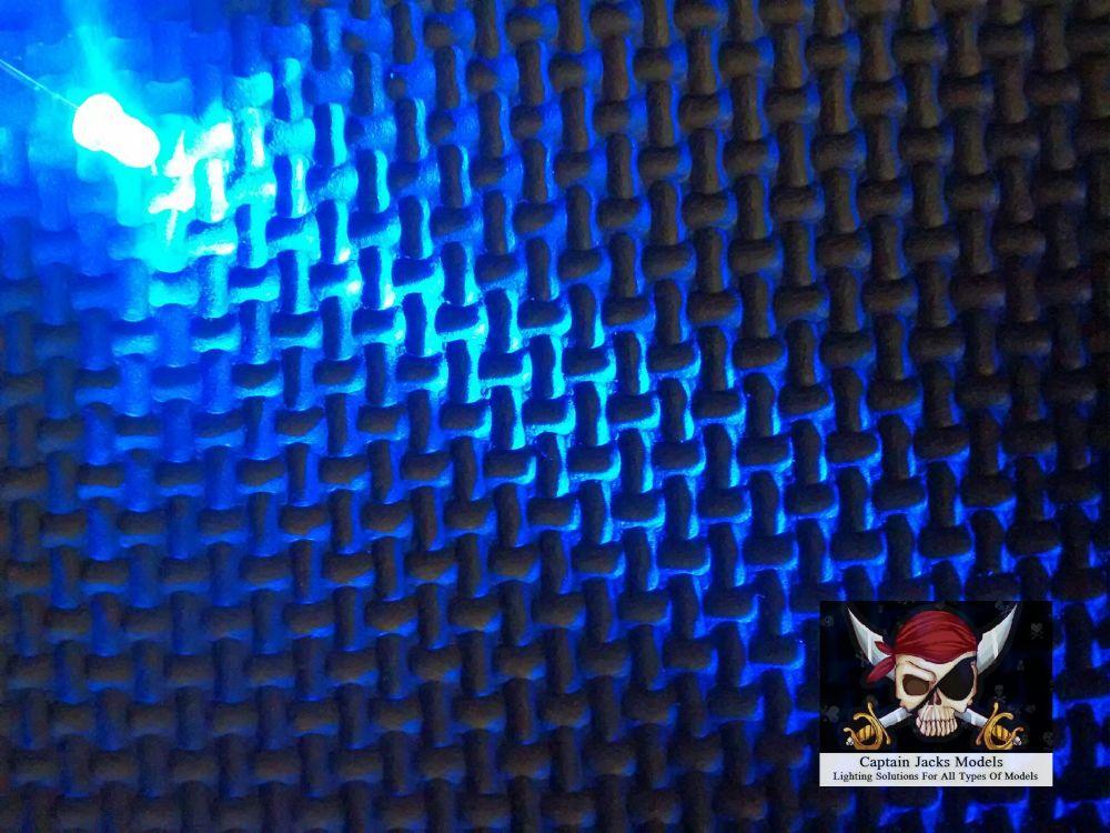Qty x10  3mm Blue Ultra Bright Led