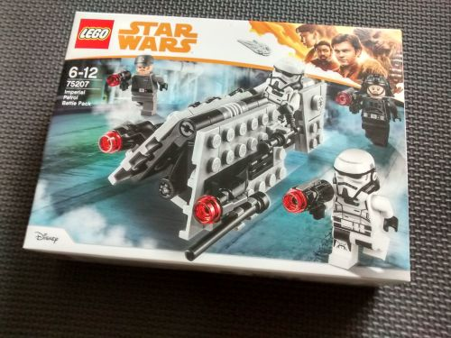 Lego Star Wars - Imperial Patrol Battle Pack - 75207 - Age Range 6 to 12 -