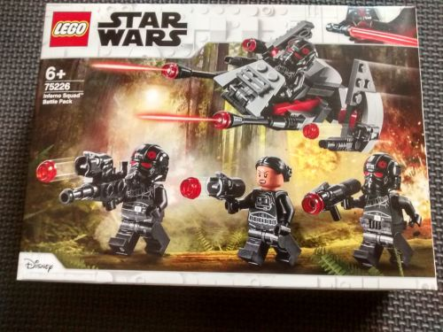 Lego Star Wars - Inferno Squad Battle Pack - 75226 - Age Range 6 to 12 - Br