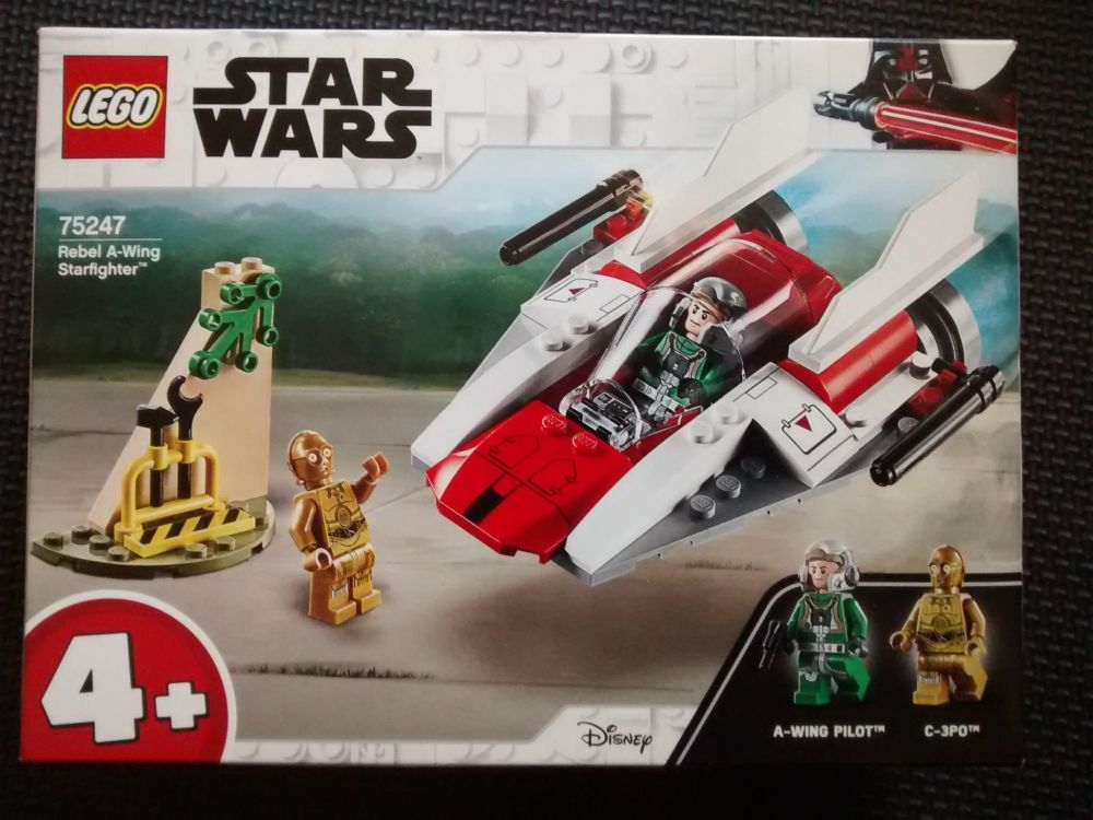 Lego Star Wars - Rebel A-Wing Starfighter - 75247 - Age Range 4 Years Plus
