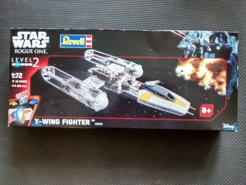 Revell Y-Wing Fighter - Star Wars - Rogue One - Model Kit - 06699 - 1:72 Sc