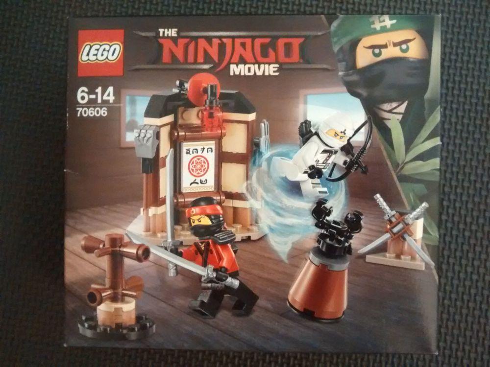 Lego The Ninjago Movie - Spinjitzu Training 70606 - Age Range 6 to 14 - Bra