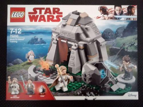 Lego Star Wars - Ahch-To Island Training - 75200 - Age Range 7 Years Plus -