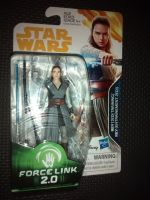 """Star Wars Rey (Jedi Training) Collectable Figure E1243/E0323 Force Link - 2.0 Compatible 3.75"""" Tall"""
