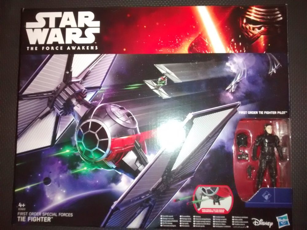 Star Wars - The Force Awakens - First Order Special Forces TIE Fighter Set