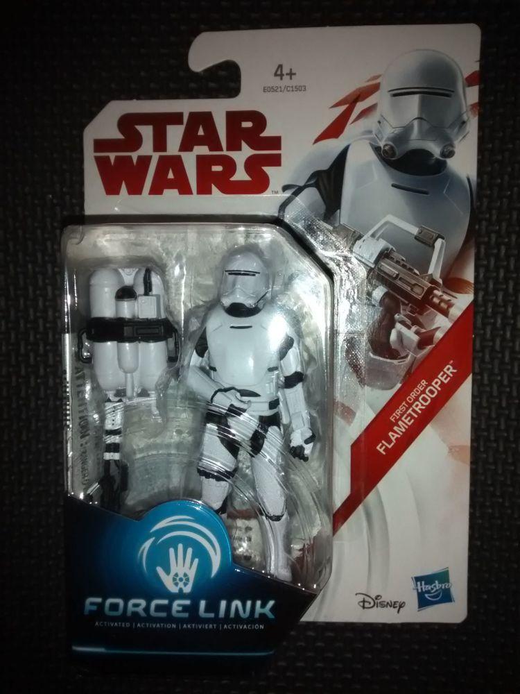 Star Wars First Order Flametrooper Collectable Figure E0521/C1503  Force Li